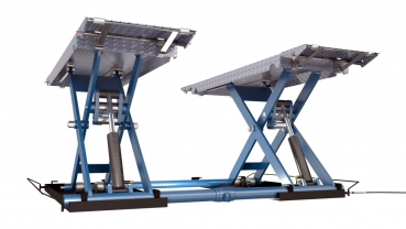 ProfiPaul DSLS 607 Scissor Lift ramps up